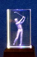 Golf - Star Crystal Laser Blocks